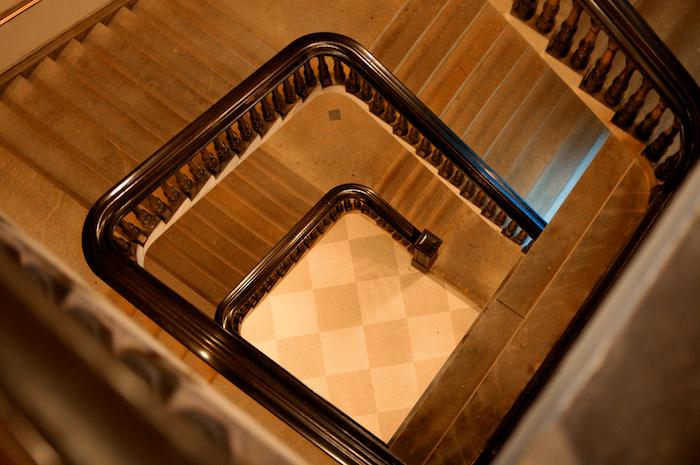 National portrait gallery stairway