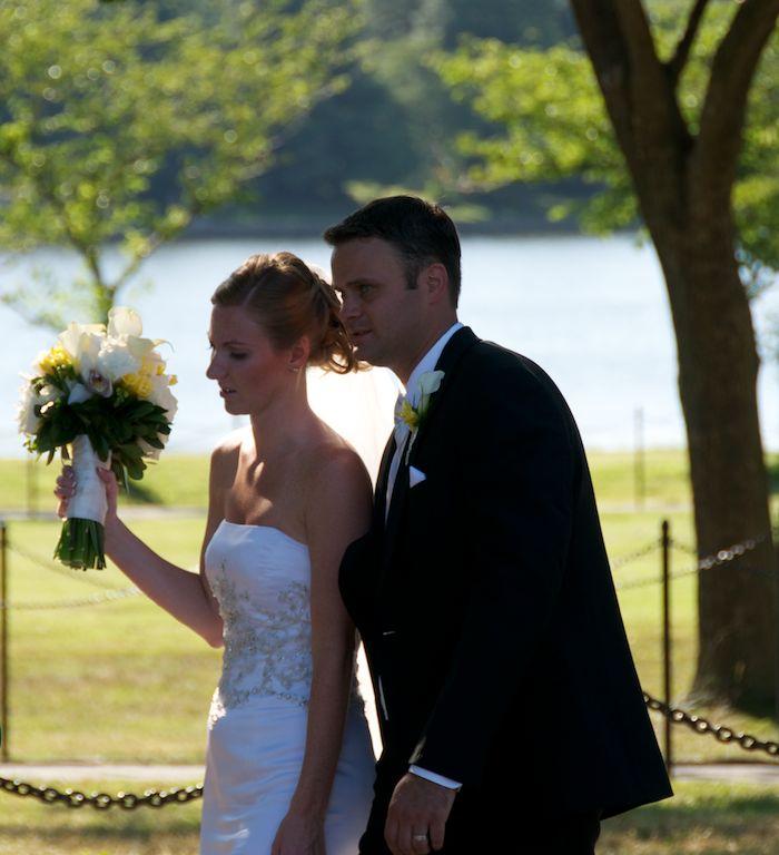 Wedding at jefferson memorial