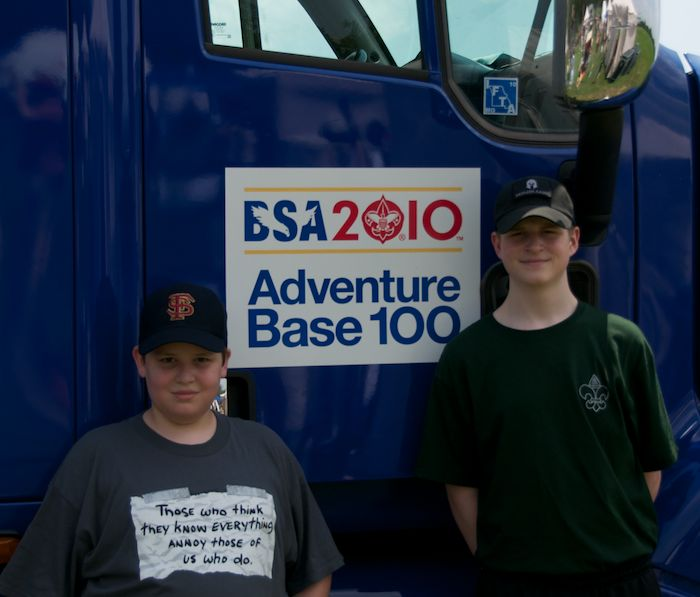 Boys AdventureBase truck