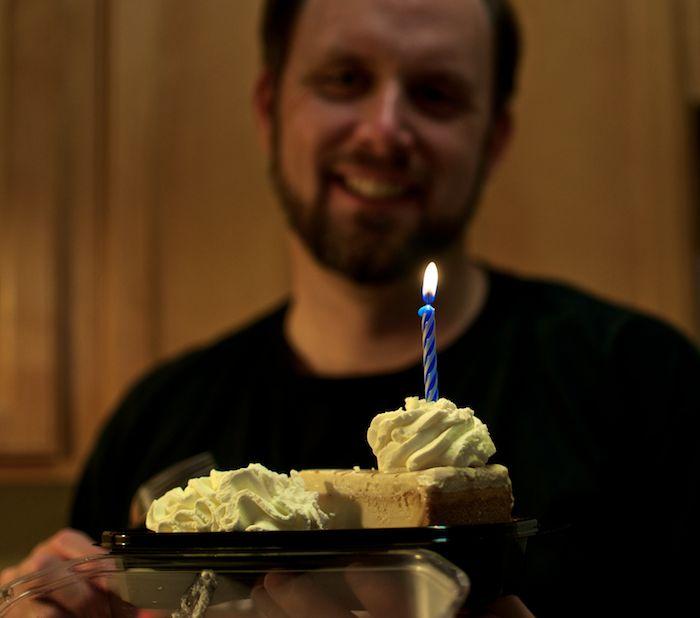 James birthday cheesecake factory